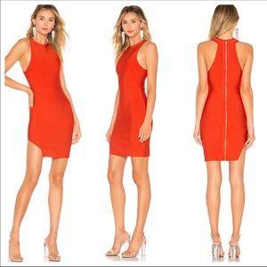 NBD x NAVEN Stephanie Bodycon Dress Red Size S